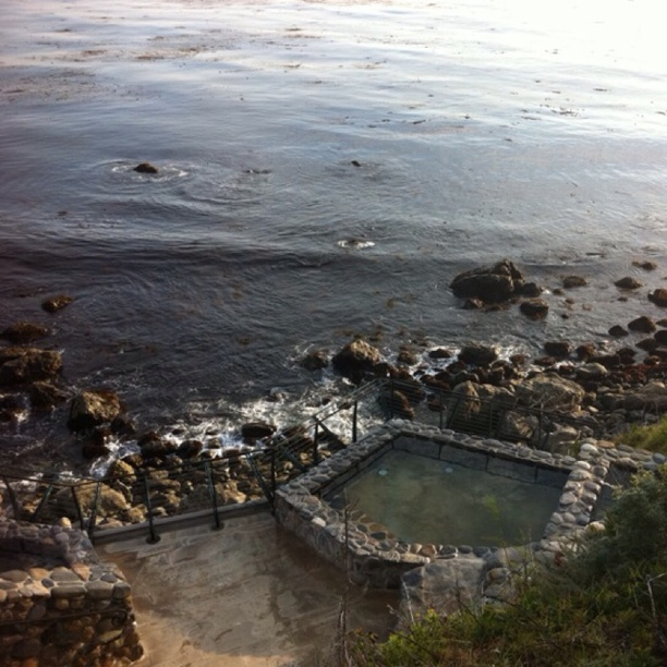 Esalen Institute Hot Springs California Hot Springs